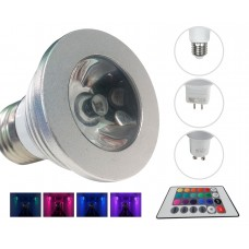 LED Color Changing Bulb