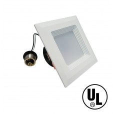"Retrofit Square 4"" Dowlight LED Dimmable"