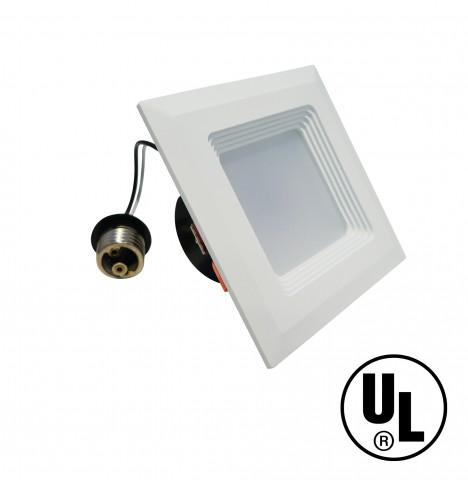 "Retrofit Square 4"" Dowlight LED Dimmable"