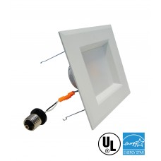 "Retrofit Square 6"" Dowlight LED Dimmable"