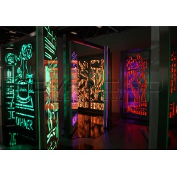 Art Basel Miami 2015 RGB LED Lighting