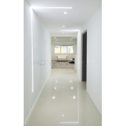 Linear lighting Hallway