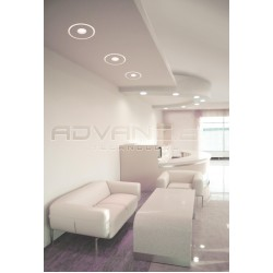 Trimless LED Ceramic Ceiling light