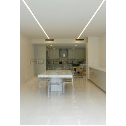 Linear lighting Kitchen
