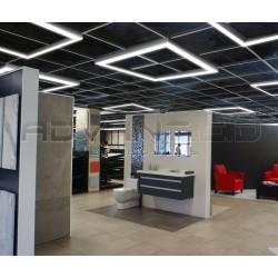 LED Linkable hanging panels
