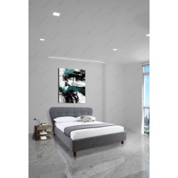Linear lighting & Trimless Ceiling light  Bedroom