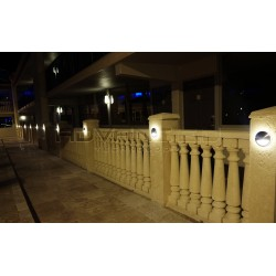 Wall Light Outdoor Round