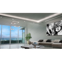 Soffit, linear lighting, Ring LED Pendant