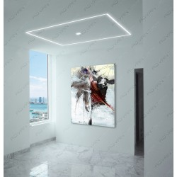 Sunny Isles Linear lighting & Trimless Ceiling light  Square