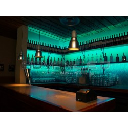 Color Changing Bar Green